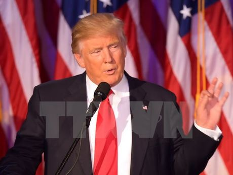 Tong thong dac cu My Donald Trump neu 3 uu tien chinh sach - Anh 1
