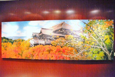 Trien lam tranh phong canh Nhat Ban cua hoa sy Pham Luan tai Tokyo - Anh 3