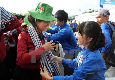 Tau Thanh nien Dong Nam A va Nhat Ban den Thanh pho Ho Chi Minh - Anh 2