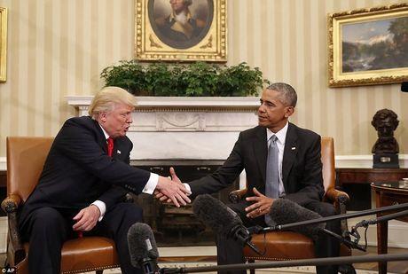 Trump lan dau tien gap Obama o Nha Trang - Anh 1