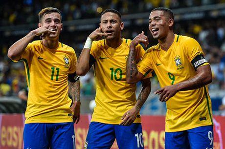 Clip Neymar toa sang, Brazil 'vui dap' Argentina - Anh 1