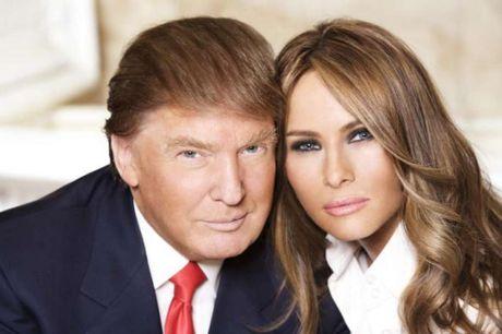 'So gang' nhan sac 3 nguoi vo cua Donald Trump - Anh 14