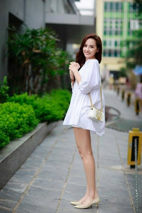 Thuy Van, Vy Oanh non na, sexy voi sac trang dau Dong - Anh 3
