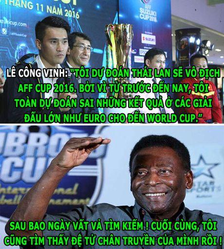 HAU TRUONG (11.11): Pele nhan Cong Vinh lam 'de tu chan truyen' - Anh 1