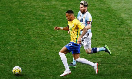 Messi mo nhat, Brazil huy diet Argentina - Anh 1