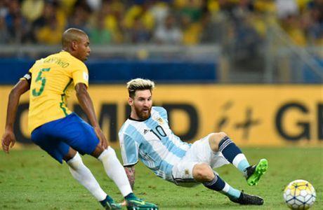 Co Messi, Argentina van tham bai truoc Brazil - Anh 2