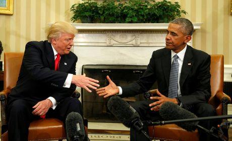 Tong thong Obama gap go ong Donald Trump o Nha Trang - Anh 1
