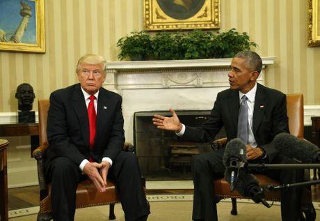Tong thong Obama gap go ong Donald Trump o Nha Trang - Anh 3
