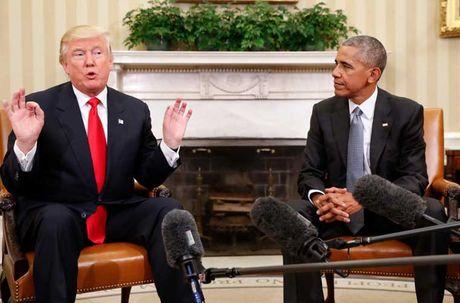 Nhung cu chi day an y trong cuoc gap Donald Trump-Barack Obama - Anh 3