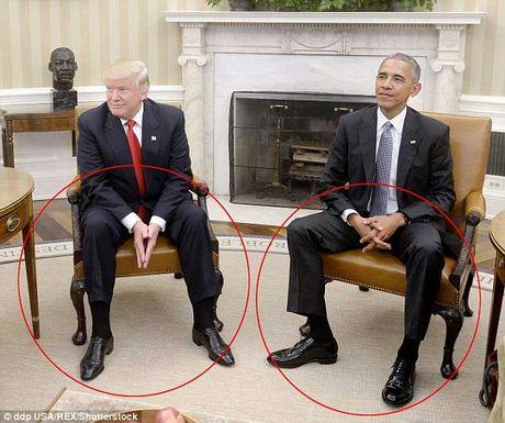 Nhung cu chi day an y trong cuoc gap Donald Trump-Barack Obama - Anh 7