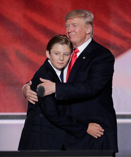 Gu thoi trang lich lam tu nho cua con ut Tong thong Donald Trump - Anh 6