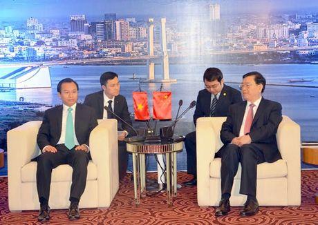 Chu tich Quoc hoi Trung Quoc Truong Duc Giang tham Da Nang va Quang Nam - Anh 2