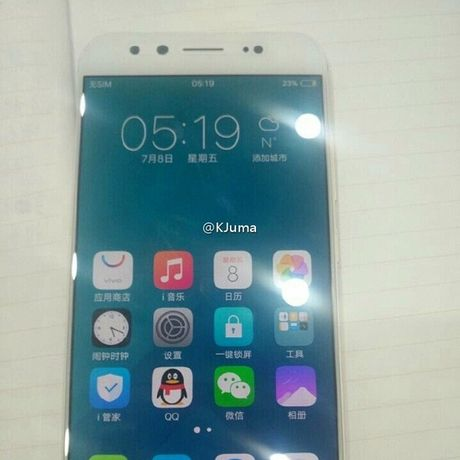 Lo dien anh thuc te bo doi smartphone Vivo X9 va X9 Plus - Anh 2