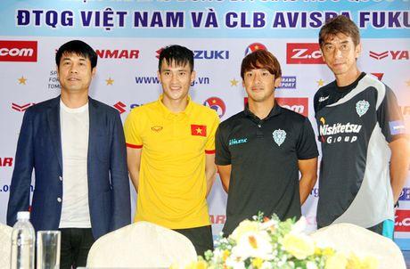 HLV cua Avispa Fukuoka 'ngan' Le Cong Vinh - Anh 1