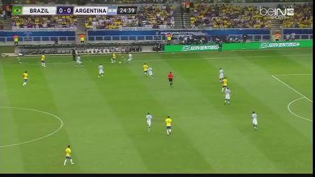 Messi tat tieng, Argentina dai bai o Brazil - Anh 1