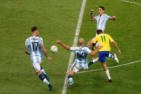 Messi tat tieng, Argentina dai bai o Brazil - Anh 4