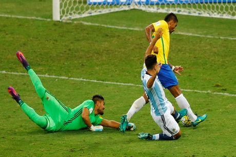 Messi tat tieng, Argentina dai bai o Brazil - Anh 6