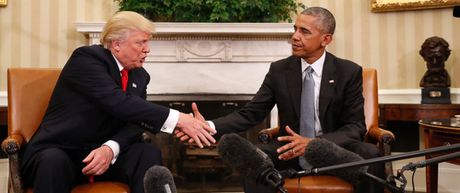 3 diem bat thuong trong cuoc gap giua TT Obama va ong Trump - Anh 3