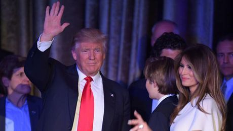 Melania Trump – Tu sieu mau thanh de nhat phu nhan My - Anh 2
