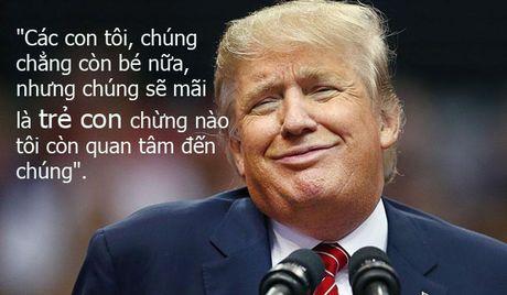 Nhung cau noi dang nho ma cha con Donald Trump danh cho nhau - Anh 8