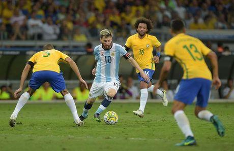 Messi mat tich, Neymar lap ky luc, Brazil vui dap Argentina 3-0 - Anh 1