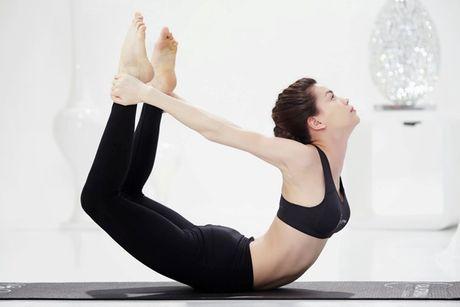 Khoe dep nhu Ho Ngoc Ha nho Yoga - Anh 4