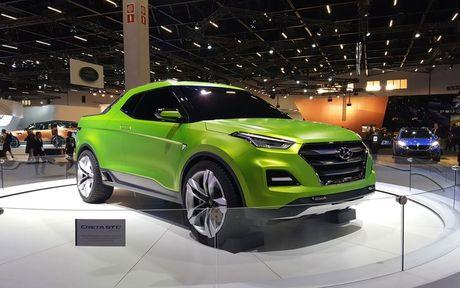 Phien ban xe ban tai Hyundai Creta STC duoc gioi thieu - Anh 1