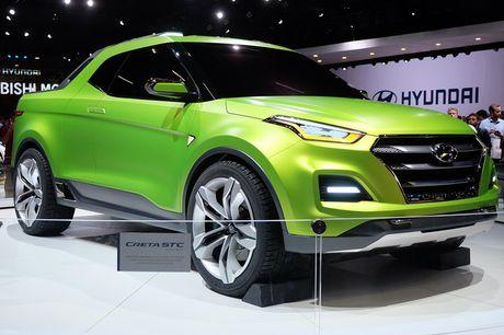 Phien ban xe ban tai Hyundai Creta STC duoc gioi thieu - Anh 2