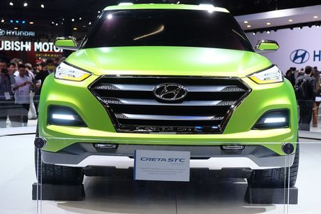 Phien ban xe ban tai Hyundai Creta STC duoc gioi thieu - Anh 3