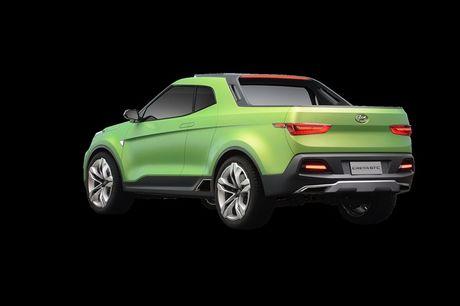Phien ban xe ban tai Hyundai Creta STC duoc gioi thieu - Anh 4