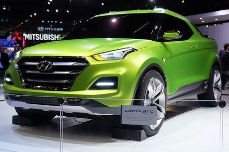 Phien ban xe ban tai Hyundai Creta STC duoc gioi thieu - Anh 6
