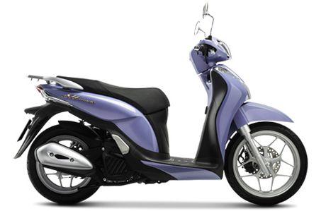 Honda Viet Nam gioi thieu phien ban moi SH Mode 125cc - Anh 1