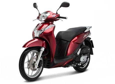 Honda Viet Nam gioi thieu phien ban moi SH Mode 125cc - Anh 2