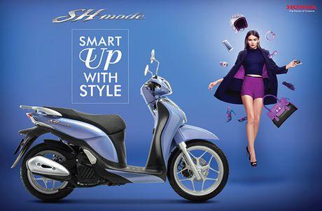 Honda Viet Nam gioi thieu phien ban moi SH Mode 125cc - Anh 3