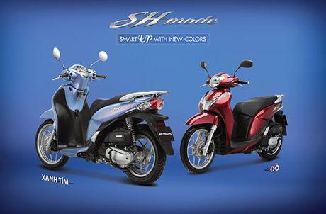 Honda Viet Nam gioi thieu phien ban moi SH Mode 125cc - Anh 4