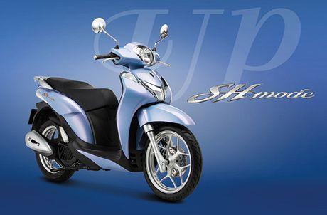 Honda Viet Nam gioi thieu phien ban moi SH Mode 125cc - Anh 5