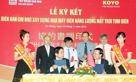 Hop tac XKLD Sao Mai Group va Koyo Group - Anh 1