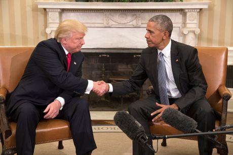 Ong Obama va Trump ban chuyen chuyen giao quyen luc - Anh 1