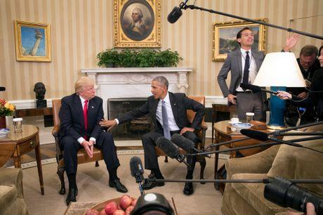 Ong Obama va Trump ban chuyen chuyen giao quyen luc - Anh 4