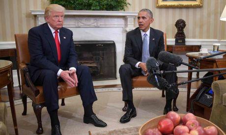 Ong Obama va Trump ban chuyen chuyen giao quyen luc - Anh 5