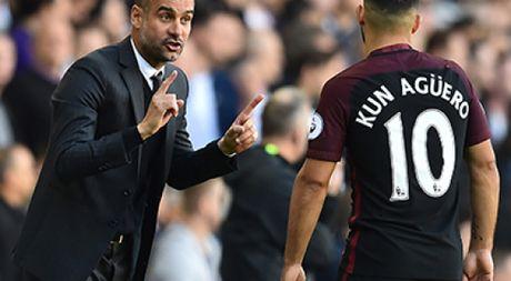 Sergio Aguero ca ngoi Pep Guardiola va tiet lo chuyen tuong lai - Anh 1