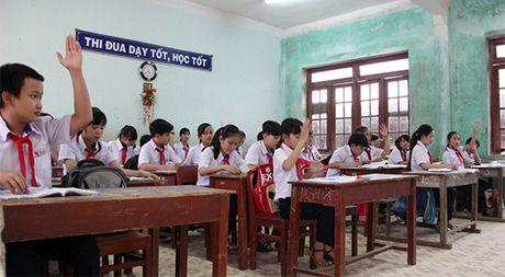 Mot ngoi truong o TP.Quang Ngai co hang tram hoc sinh bo hoc - Anh 2