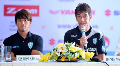 Cong Vinh, Cong Phuong, Tuan Anh duoc HLV doi Avispa Fukuoka danh gia cao - Anh 1
