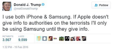 Sau Tong thong Putin, Donald Trump duoc khac hoa chan dung tren iPhone - Anh 4