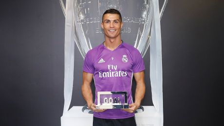Ronaldo gianh giai 'Cau thu xuat sac nhat 2016', Messi dung thu 4 - Anh 3