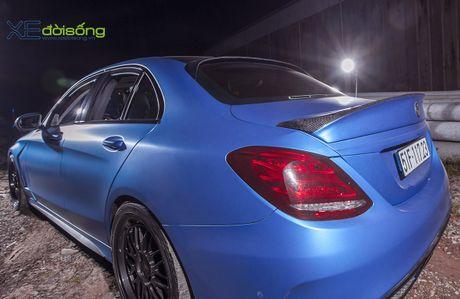 Ong bo tre me xe do Mercedes C200 cuc chat o Sai Gon - Anh 12