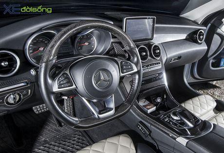 Ong bo tre me xe do Mercedes C200 cuc chat o Sai Gon - Anh 14