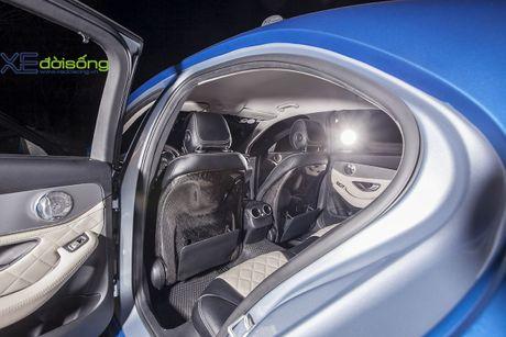 Ong bo tre me xe do Mercedes C200 cuc chat o Sai Gon - Anh 16