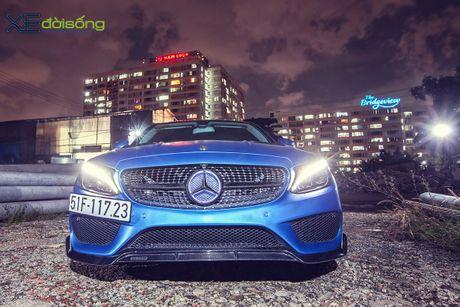 Ong bo tre me xe do Mercedes C200 cuc chat o Sai Gon - Anh 3