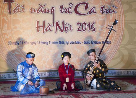 Lien hoan tai nang tre ca tru Ha Noi - 2016 - Anh 2